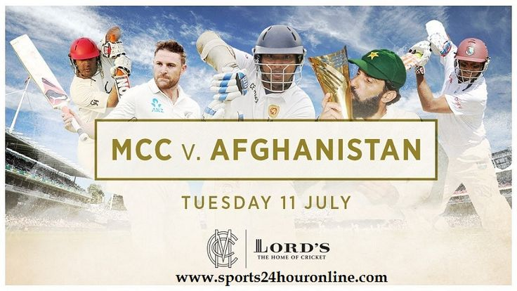 MCC vs Afg Today Live Streaming One Day Match 11 July 2017. Marylebone Cricket Club vs Afghanistan ODI live score, telecast, broadcast, preview, prediction