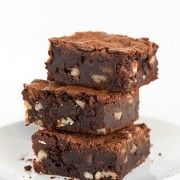 I've been on the hunt for the perfect brownie recipe for years. I'm pretty picky about my brownies. I don't like them to have an overbearing chocolate flav