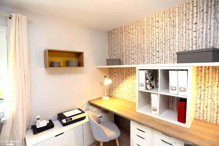 Bureau chambre damis, Jambville, Mélissa Desbriel - décorateur d ...