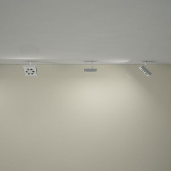ZEUS è un proiettore led ad alta luminosità, da soffitto o da parete: la sua estetica, particolarmente curata nei dettagli, ne rende adatto l'utilizzo per ogni tipo di applicazione.    L'utilizzo di uno snodo tecnico alla base del proiettore permette di orientarlo con facilità in ogni direzione