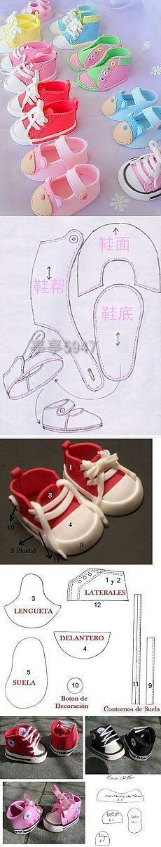 Обувь для кукол …