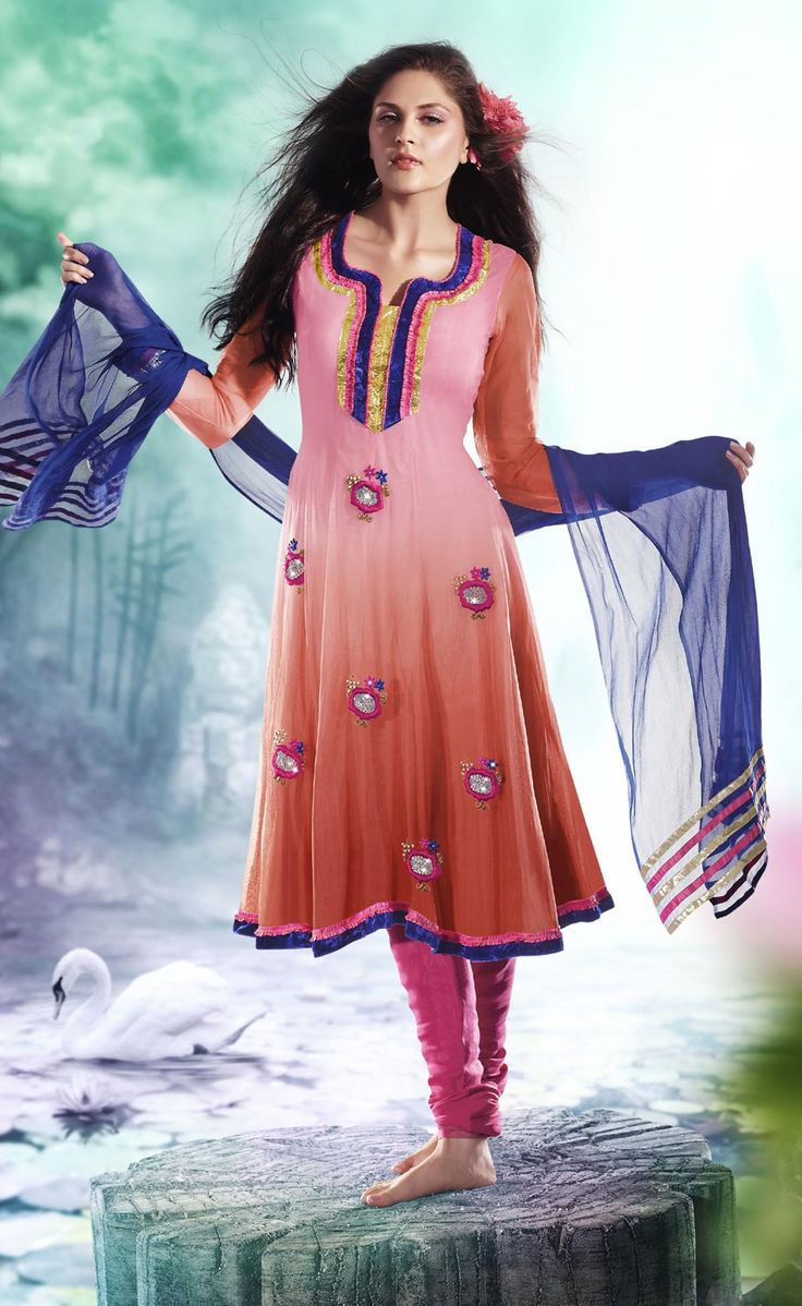 93 best Churidhars images on Pinterest   Ethnic, Party fashion and ...