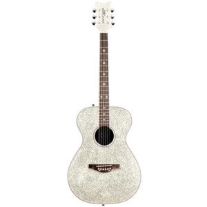 Taylor Swift style Silver Sparkle guitar