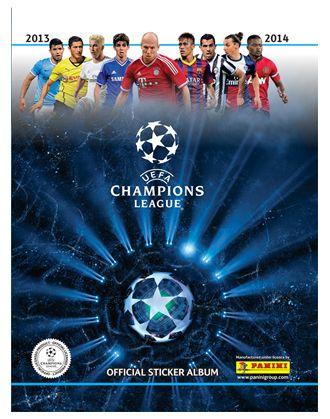 Figurine Panini: in edicola l'album della Champions League