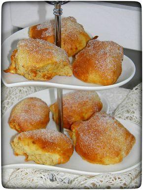 Leckere Zimt-Quarkbällchen ganz ohne frittieren. Zubereitet im Airfryer und lauwarm ganz leicht mit Butter bestrichen und in Zimt-Zucker gewälzt. Yummie!