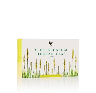 Aloe Blossom Herbal Tea is a characteristic mix of leaves, herbs and flavors, uniquely arranged to give a remarkable flavor and a rich smell.