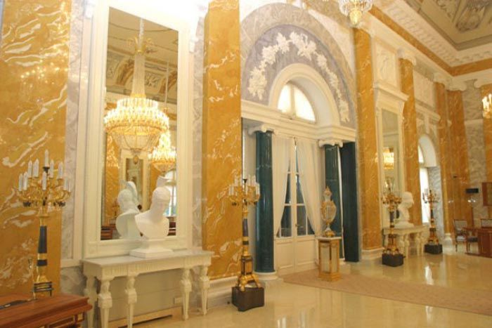 Nikolaevsky Palace (Grand Duke Nicholas' Palace), St.Petersburg, Russia - Playbill and Tickets   RussianBroadway.com