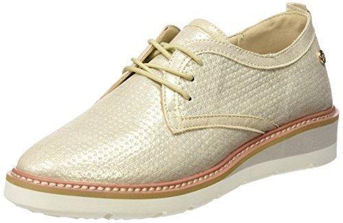 Oferta: 49.95€ Dto: -57%. Comprar Ofertas de XTI Zapatos con cordones - Zapatos con cordones para Mujer, color oro, talla 40 barato. ¡Mira las ofertas!