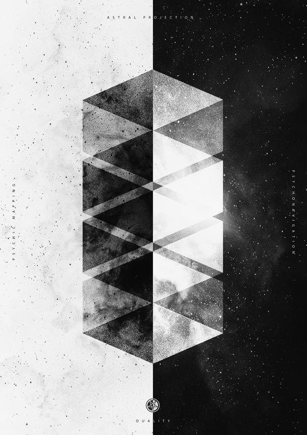 Black and White Print Series