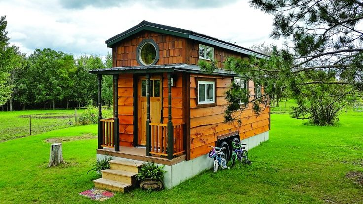 beautiful tiny house for a family customized tumbleweed elm 24 dormers reclaimed wood round. Black Bedroom Furniture Sets. Home Design Ideas