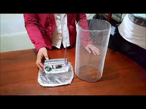 experimentos jaula de faraday - YouTube