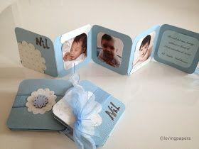 Detalles de bautizo Mini album de fotos