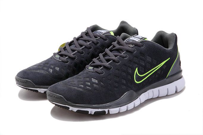 OVtwKbXs Nike Free Run Tr Fit Grey Green Men's Shoes