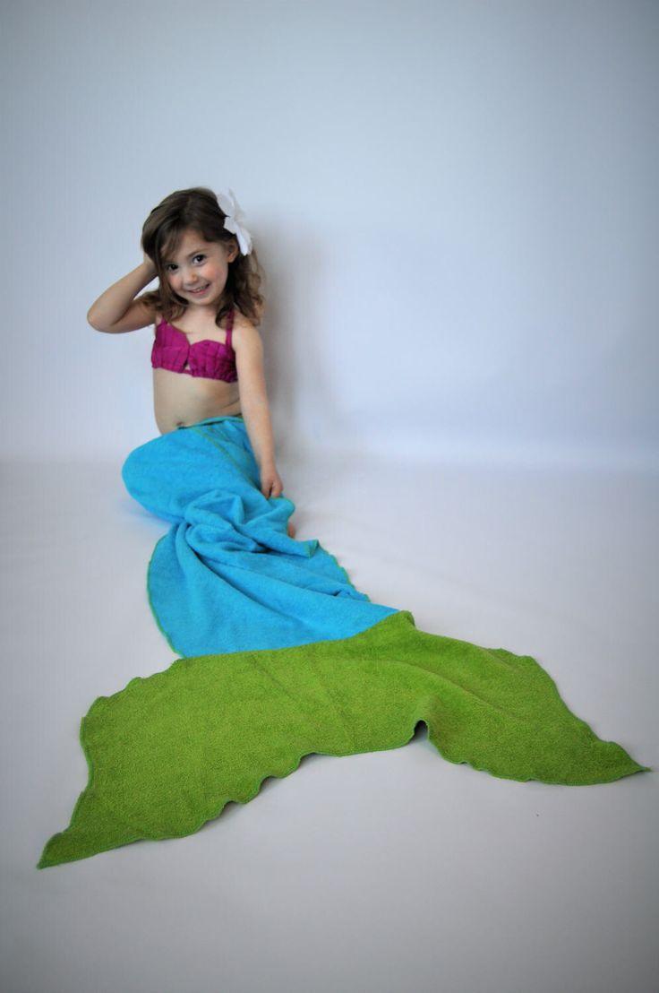 Mermaid tail towel // blue mermaid tail towel // Tail Towel // Mermaid towel // mermaid tail blanket by MartinelliSweets on Etsy https://www.etsy.com/listing/517758903/mermaid-tail-towel-blue-mermaid-tail