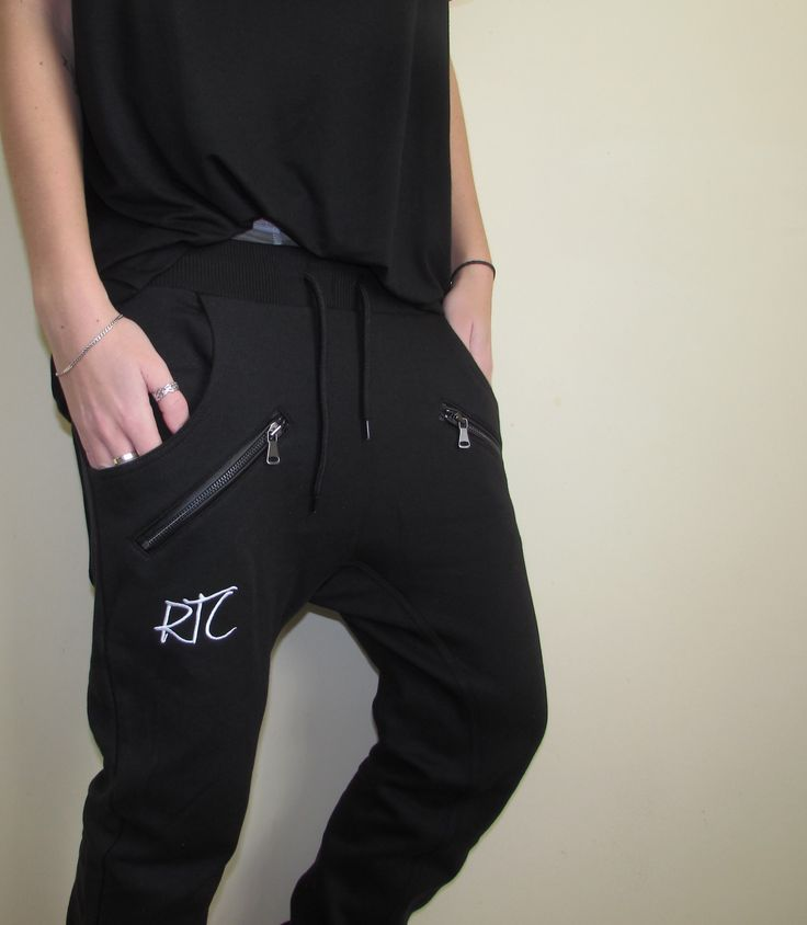 Refuse to Conform Clothing — Drop Crotch Joggers