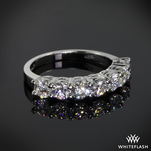 Nice This Custom Diamond Wedding Ring is set in platinum and features a lovely trellis design that holds A CUT ABOVE Hearts and Arrows Diamond Melee set in a