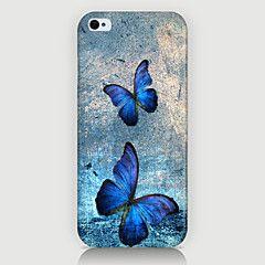 to butterfly mønster saken tilbake dekke for phone4 / 4s saken