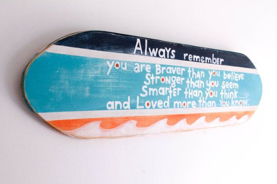 Surfboard Large Custom Beach Sign Personalized Surf Decor on Distressed Wood Beach Baby Nursery Surf Baby Nursery Surfer Kids Room Decor
