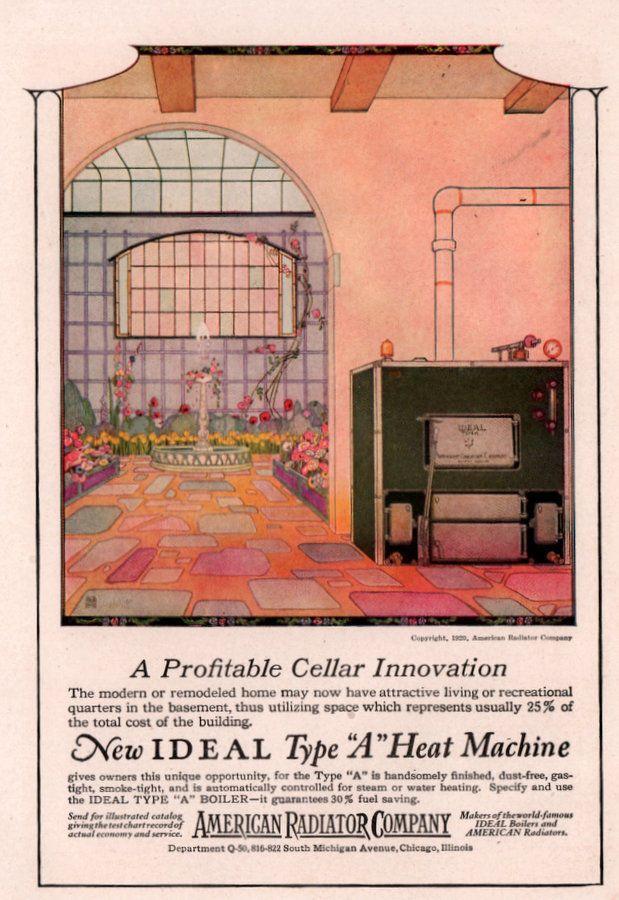 Vintage Ads Heating And Cooling Image By J E Hart Vintage Ads