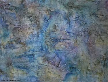 "Saatchi Art Artist Maryse Lapointe; Painting, ""Fossils 5 / Fossiles 5"" #art, #art, #oiloncanvas, #abstract, #abstractexpressionism, #riopelle, #georgesmathieu, #artquebecois, #music, #oilpainting, #artistequébécoise, #abstrait, #expressionnismeabstrait, #maryselapointe, #saisons, #seasons, #dekooning, #borduas, #automatisme,  #tableauàl'huile, #musique, #fossiles, #fossils, #maryselapointe.net, http://maryselapointe.net/"