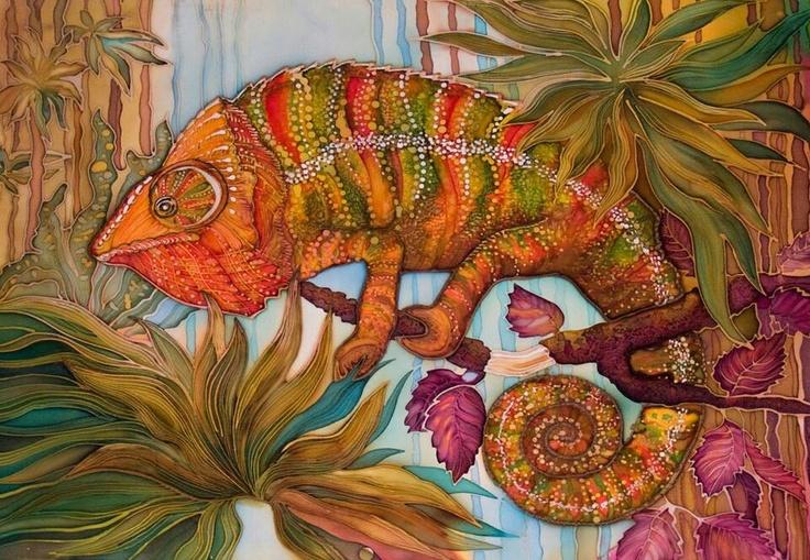 34 best chameleons art images on pinterest chameleons