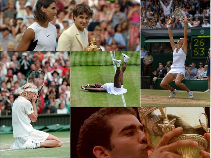 50 iconic images of Wimbledon champions through the years