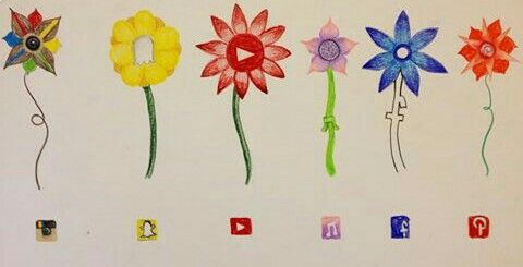 Flowers socials medias