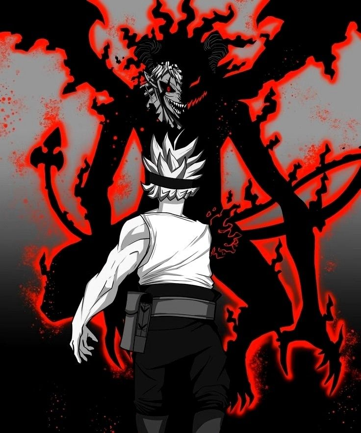 Pin By Enmanuel Serrata On Black Clover Black Clover Anime Black Clover Manga Black Wallpaper Iphone Dark