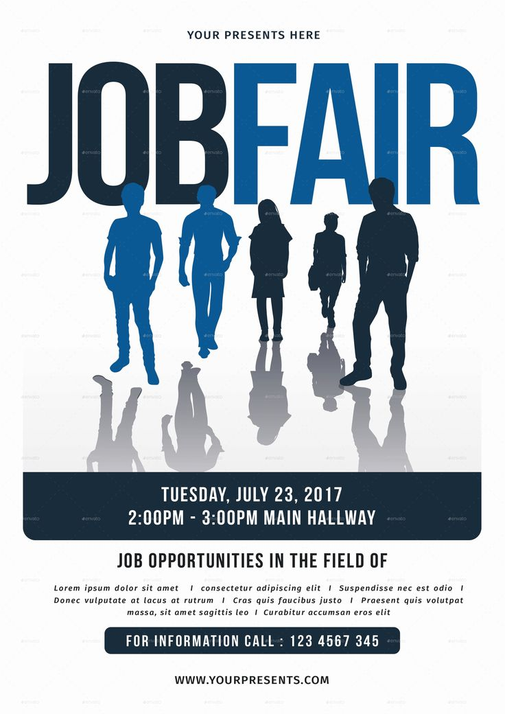 Job Flyer Template Word Awesome Job Fair Flyer by