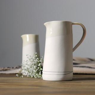 Porcelain jug made by Lara Scobie, Edinburgh, for Breanish Scotland