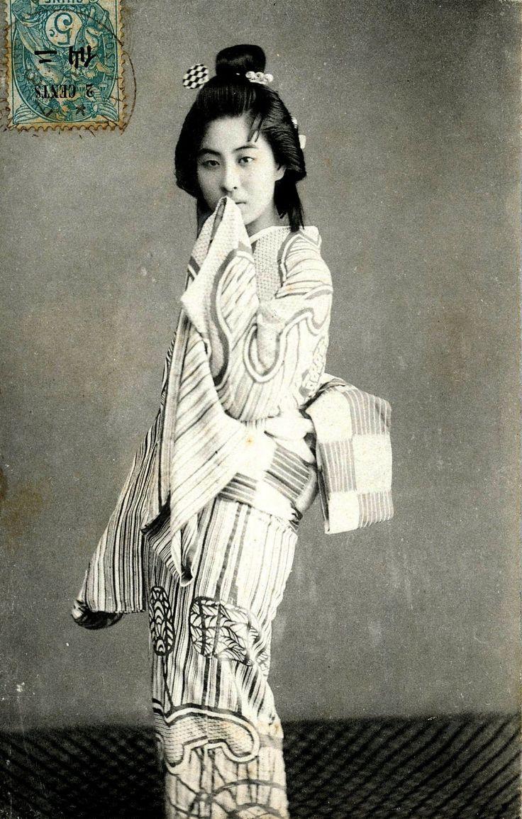 Japan. Tokyo Geisha 1908, postcard