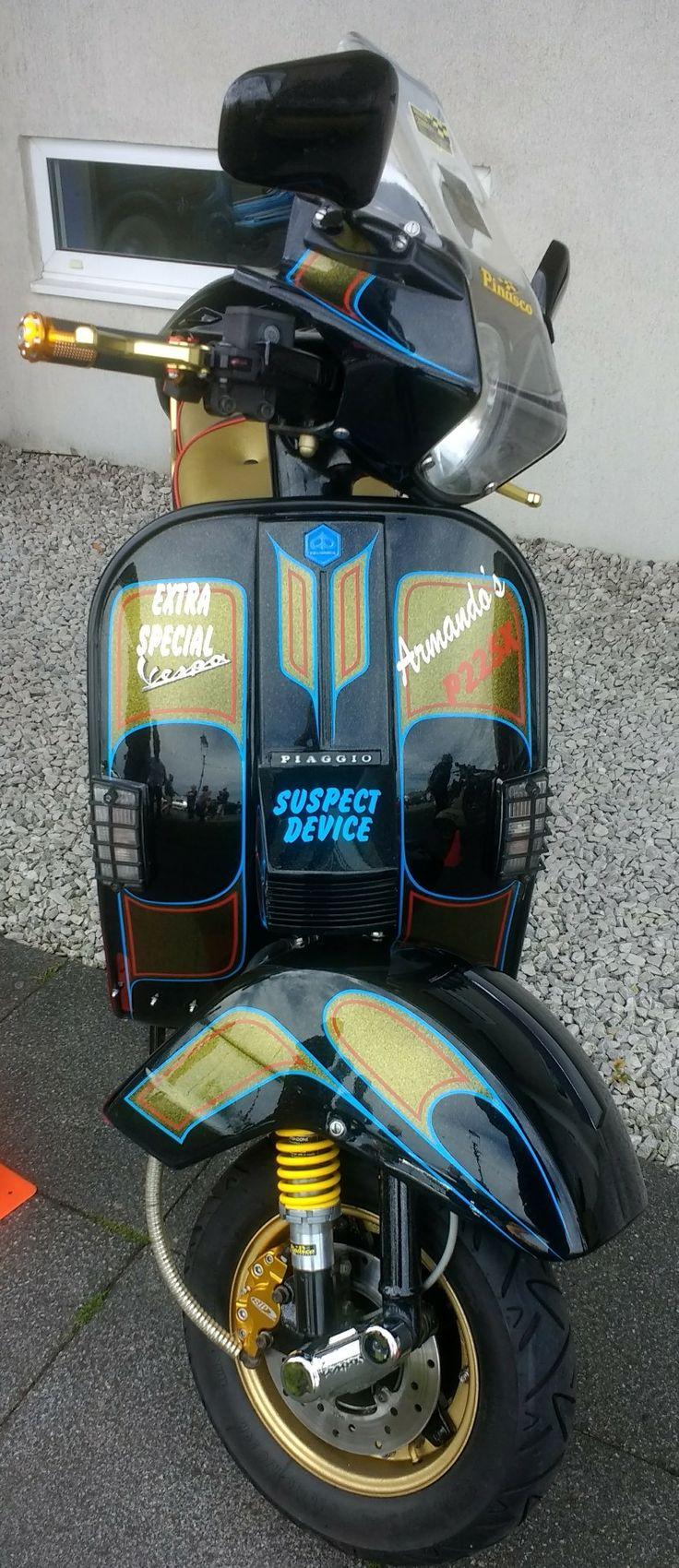 Llandudno national scooter rally custom show