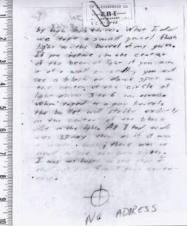 Zodiac Killer, Debut of Zodiac Letter Page 3