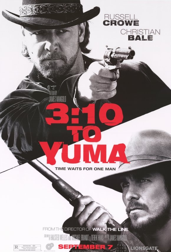 To see action   3:10 to Yuma (2007) In this gripping remake of the 1957 classic, rancher Dan Evans agrees to help transport captured outlaw Ben Wade to the nearest rail station, where they'll board a train to court. But all the while, Wade's henchmen are plotting their next move. Cast:Russell Crowe, Christian Bale, Peter Fonda...