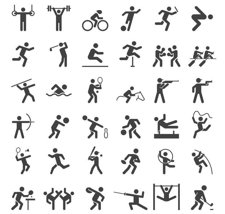 Sport und Hobby Diagram Quizlet Pittogramma, Sport