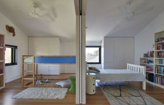The rooms are adaptable, and can grow alongside the family