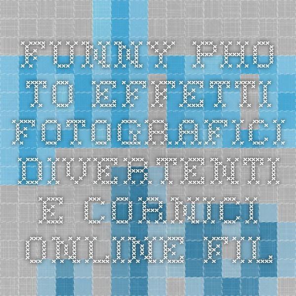 Funny.Pho.to - Effetti fotografici divertenti e cornici online. Filtri fotografici gratis, collage di foto e montaggi