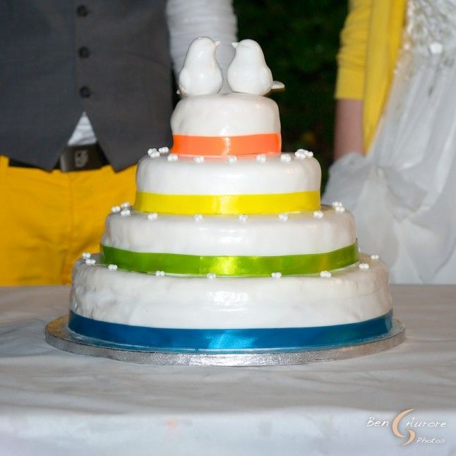 the 25+ best rainbow wedding cakes ideas on pinterest | rainbow