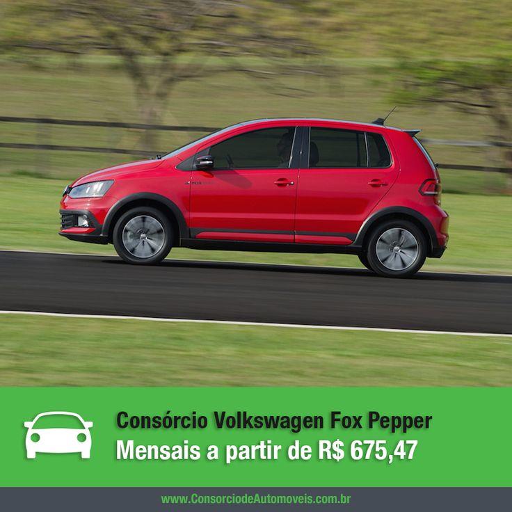O Volkswagen Fox Pepper 2016, edição especial do compacto, já está à venda no país e você pode comprar o seu por meio do consórcio. Veja na matéria: https://www.consorciodeautomoveis.com.br/noticias/consorcio-vw-fox-pepper-2016-em-ate-r-675-47-mensais?idcampanha=206&utm_source=Pinterest&utm_medium=Perfil&utm_campaign=redessociais