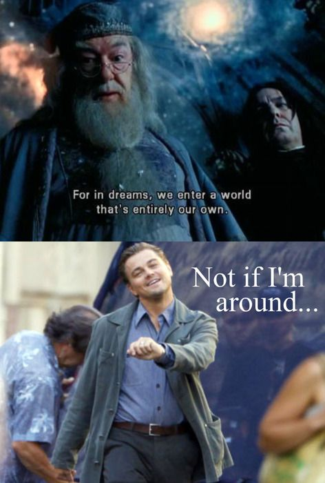 Dreams: Harry Potter and Inception