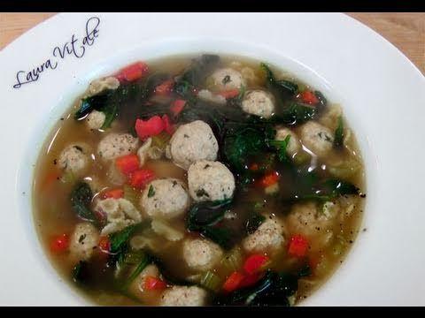 How to make Italian Wedding Soup - Recipe by #RecipeRehab Chef, Laura Vitale!