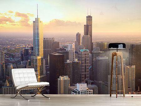 Fotomural Horizonte de Chicago
