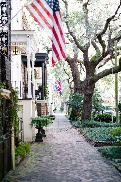 Kate and Brad's Historic Savannah Elopement