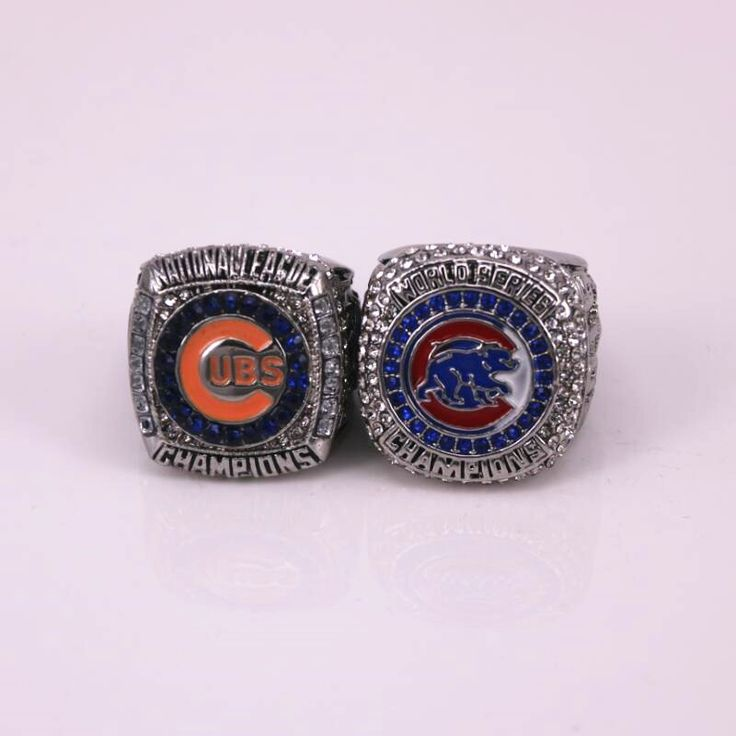 Now available in our store  US sizes 2Pcs/Set... Check it out here! http://championshipringsandmore.com/products/us-sizes-2pcs-set-baseball-ring-2016-chicago-cubs-world-national-league-championship-rings-replica-soild-ring?utm_campaign=social_autopilot&utm_source=pin&utm_medium=pin