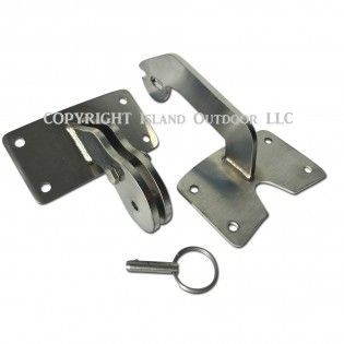 UDS Hinge for Ugly Drum Smoker Stainless w/ quick release