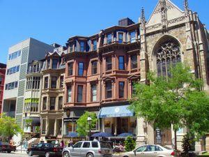 Newbury Street Boston…..memories