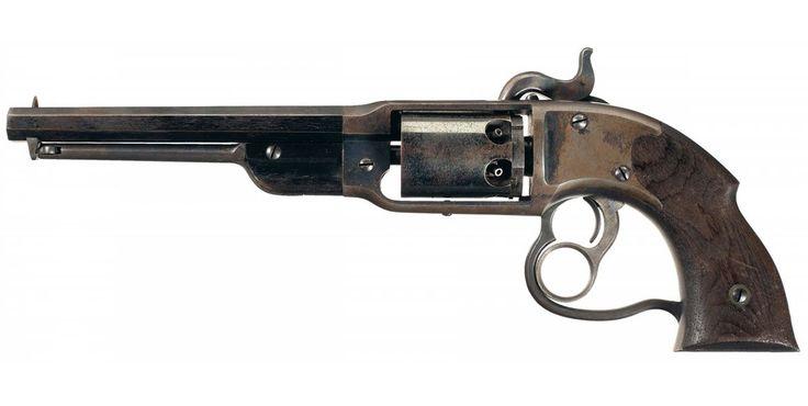 "peashooter85: ""American Civil War Savage Navy revolver, 1860s. """