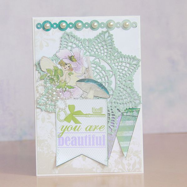 BoBunny: August Mood Board Cards ~ You Are Beautiful ~ Amy Voorthuis. Wendy Schultz ~Cards 1.