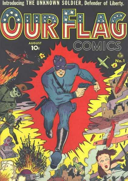 Image result for the unknown soldier comic 1941