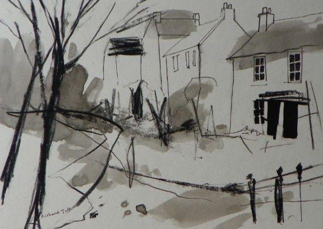 Richard Tuff - Lamorna Wink Drawing